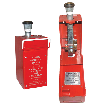 Product image for Model A Hydraulic Manual Emergency Pull Box