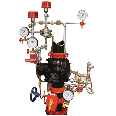 Product image for DDX Double Interlock Preaction System Type PL - Pneumatic/Pneumatic