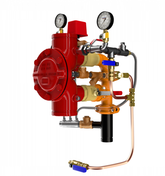 Product image for DDV Diaphragm Deluge Valve Electric Actuation, Wet Pilot, Dry Pilot, and Dry Pilot Pressure Regulating Trims