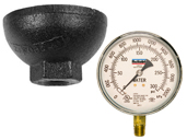 Product image for Automatic Ball Drip, Sight Drain, Control Valve Seal, Fill Cup, Inspectors Test Connections, Pressure Gauges