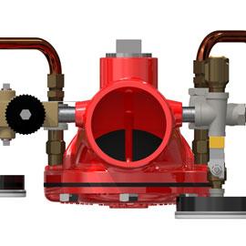 Photo of the valve