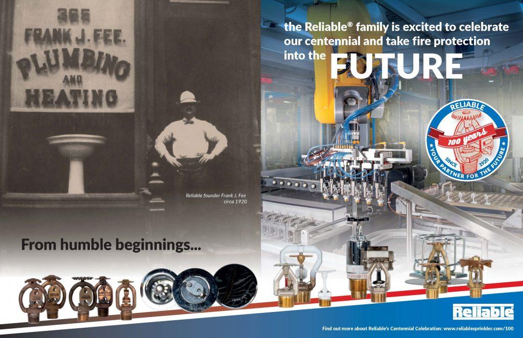 "Centennial Double Spread ""Link to the Future"""