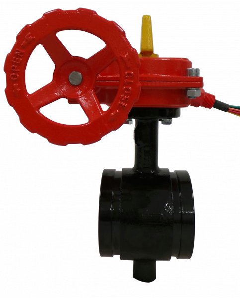 Product image for Reliable Model BFG-300 Supervised Butterfly Valve Grooved